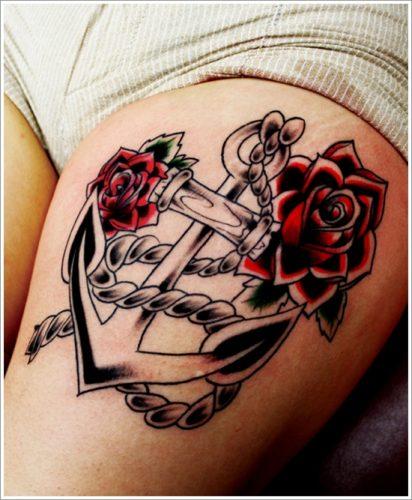 10 Diseños de tatuajes de anclas o áncoras y significados