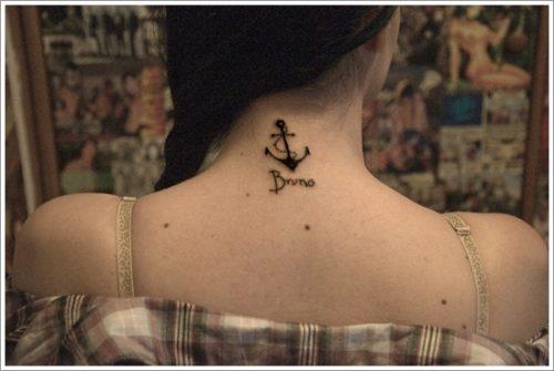 12 Diseños de tatuajes de anclas o áncoras y significados
