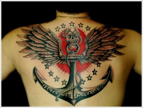 18 Diseños de tatuajes de anclas o áncoras y significados