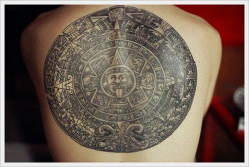 19 tatuajes tribales en la espalda