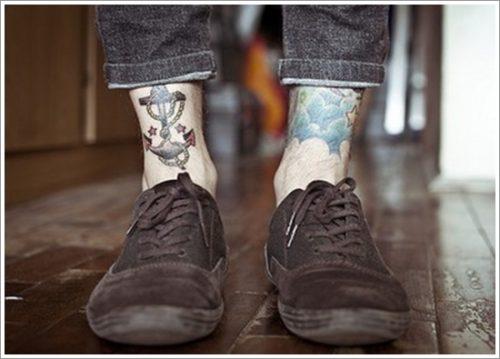 35 Diseños de tatuajes de anclas o áncoras y significados