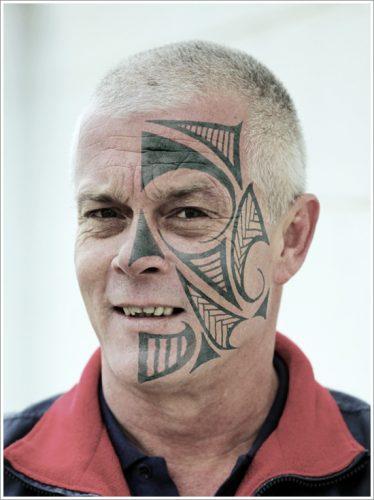 5 tatuajes en la cara