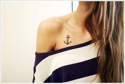 8 Diseños de tatuajes de anclas o áncoras y significados