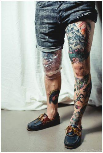 tatuajes en la pierna sexys para mujeres (29)