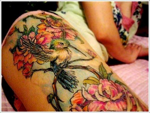tatuajes en la pierna sexys para mujeres (37)