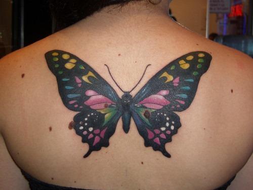 tatuajes para mujeres de mariposas20
