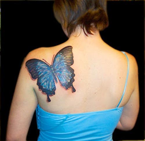 tatuajes para mujeres de mariposas21