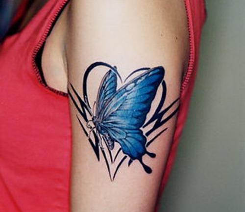 tatuajes para mujeres de mariposas26