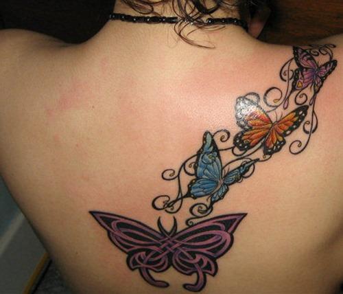 tatuajes para mujeres de mariposas27