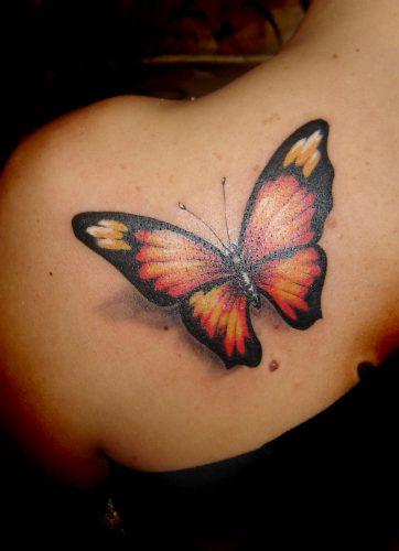 tatuajes para mujeres mariposa