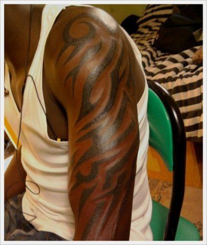 tatuajes tribales brazos 11
