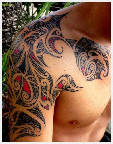 tatuajes tribales brazos 13