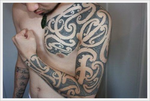tatuajes tribales brazos 18