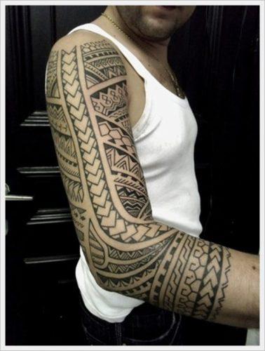 tatuajes tribales brazos 24