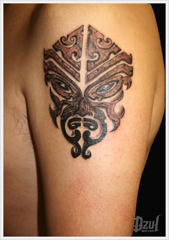 40 tatuajes tribales en los brazos para hombres y mujeres. Black Bedroom Furniture Sets. Home Design Ideas