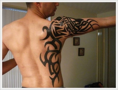 tatuajes tribales brazos 35