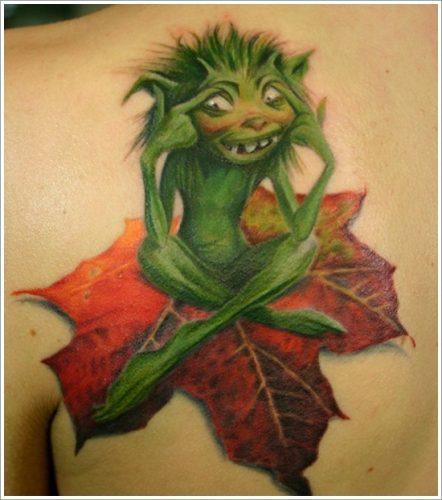 tatuajes de hojas4