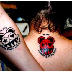 25 tatuajes para parejas originales