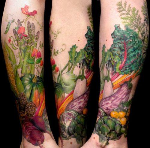 tatuajes comidas alimentos10