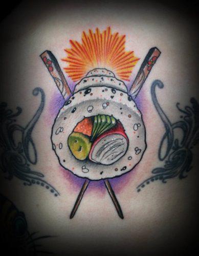 tatuajes comidas alimentos11