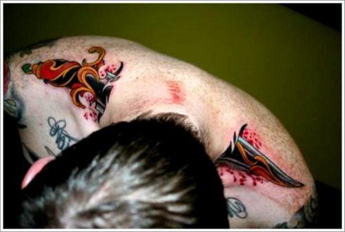 tatuajes cuchillos dagas3