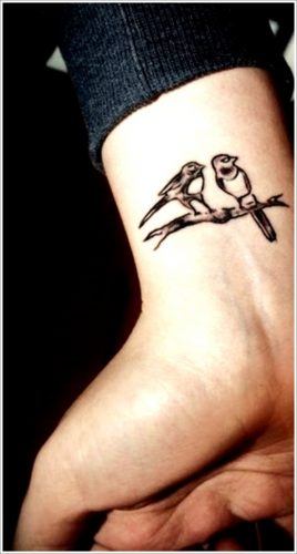 tatuajes de aves pajaros26