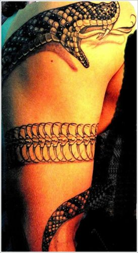 tatuajes de serpientes7