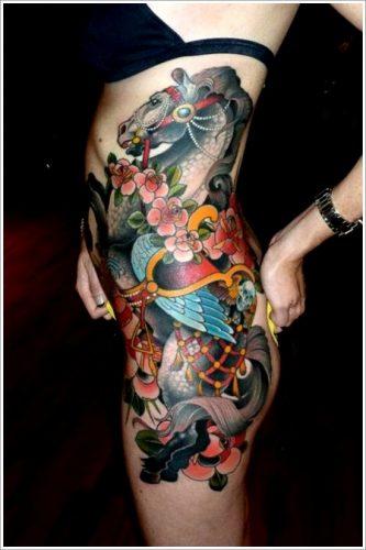 tatuajes de caballos10