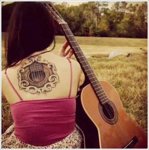 tatuajes de guitarras17