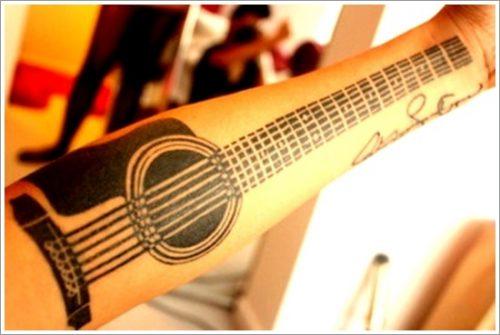 tatuajes de guitarras20