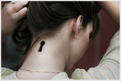 tatuajes de llaves y cerraduras17