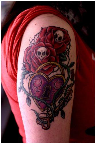 tatuajes de llaves y cerraduras23