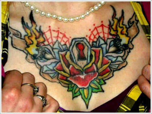 tatuajes de llaves y cerraduras7
