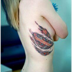 32 tatuajes de piel rasgada