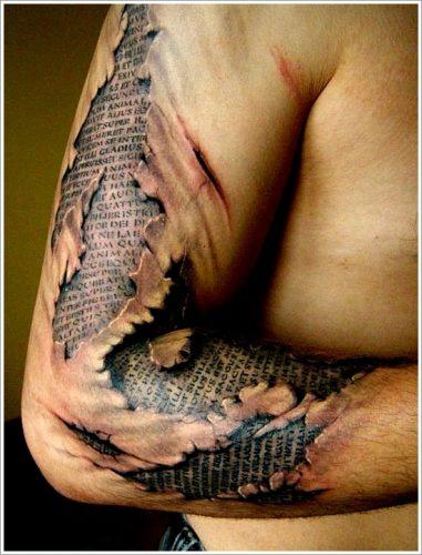 tatuajes piel rasgada desgarrada3