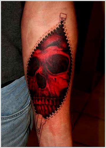 tatuajes piel rasgada desgarrada9