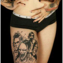 37 tatuajes de zombies increíbles
