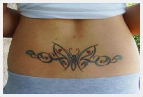 tatuajes para la parte baja de la espalda (14)
