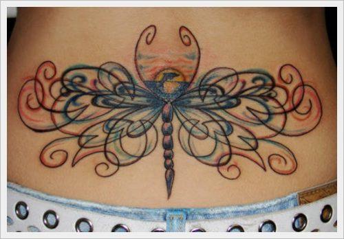 tatuajes para la parte baja de la espalda (7)