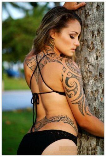 tatuajes tribales para mujeres9