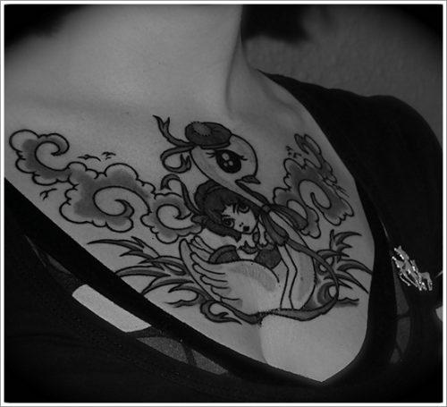 tatuajes de cisnes1