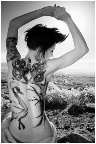 tatuajes de cisnes13