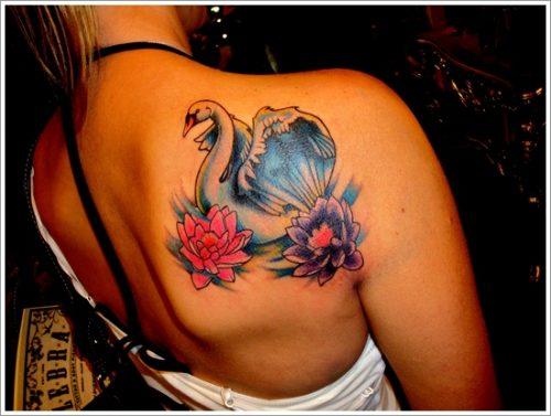 tatuajes de cisnes24
