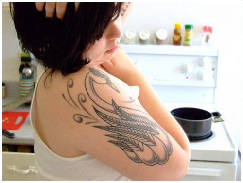 tatuajes de cisnes26