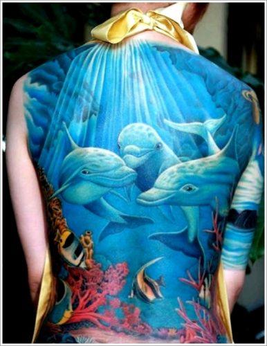 tatuajes de delfines diseños26