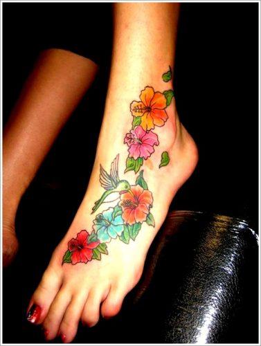 tatuajes de flores y orquídeas30