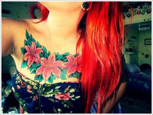 tatuajes de flores y orquídeas32