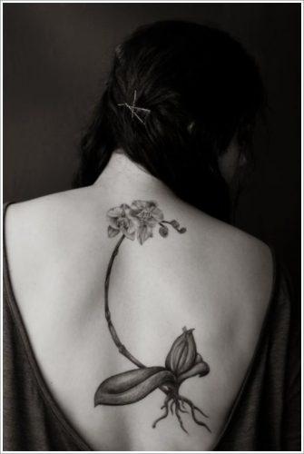 tatuajes de flores y orquídeas4