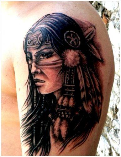 tatuajes de indios y aborigenes6