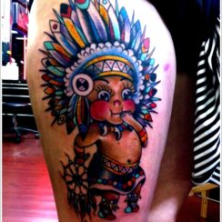 37 diseños de tatuajes de indios, aborígenes y caciques